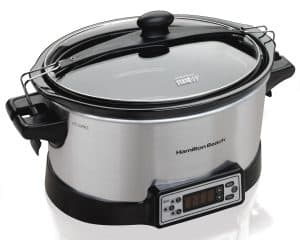 Hamilton Beach 33642 Programmable Right Size Slow Cooker,