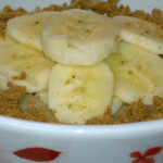 Slow Cooker Banana Creme Pie Oatmeal