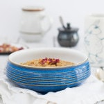 Earl Grey Oatmeal w/ Rosewater from Your Slow Cooker or Instant Pot