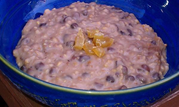 Slow Cooker Red Bean (Adzuki) Oatmeal