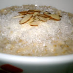 Slow Cooker Almond Macaroon Oatmeal