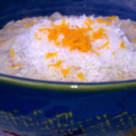 Slow Cooker Orange Coconut Oatmeal