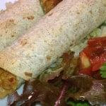 Spicy Vegan Seitan Flautas with Gluten-free Options