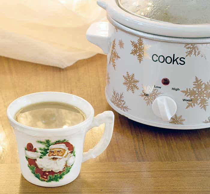 Vegan Slow Cooker Gingerbread Latte