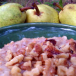 Slow Cooker Maple Pear Walnut Cake Oatmeal – the Oatmeal that Starts Your Week Off Right