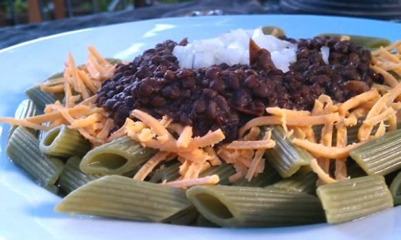 Vegan Sin-cinnati Chili for Your Halloween Dinner