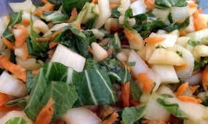 Quick and Easy Citrus Bok Choy Salad