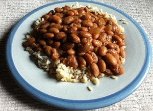Slow Cooker Speedy Baked Beans (Guest Post By Linda Watson and a Giveaway)
