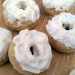 Baked Lemon Donuts with Vegan Cream Cheese Frosting