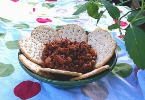 Sun Dried Tomato Eggplant Spread