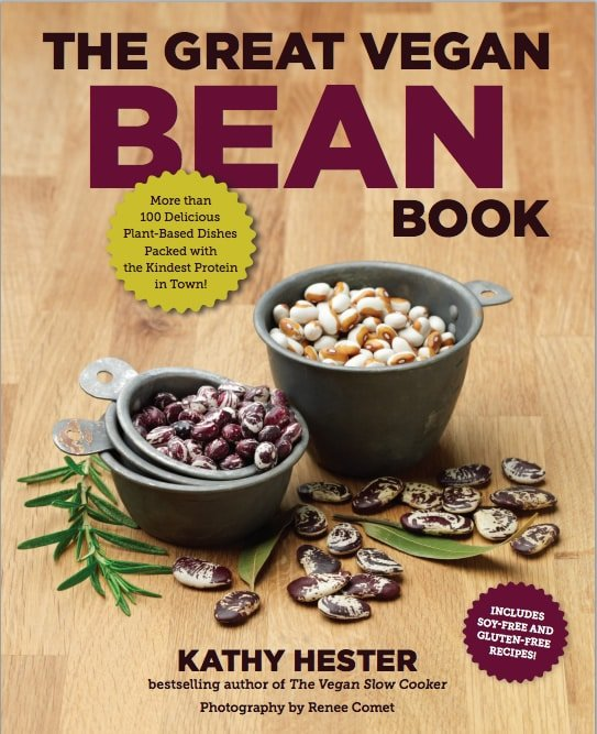 The Great Vegan Bean Book by Kathy Hester