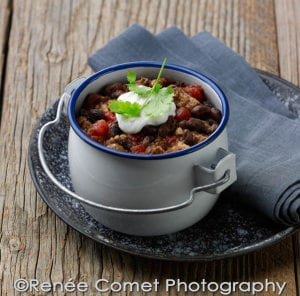 Vaquero Bean Tempeh Chili Recipe