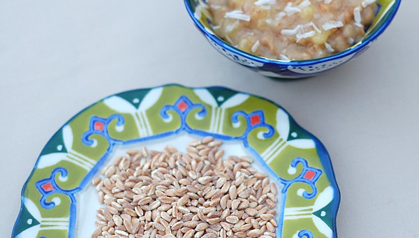 Pineapple Coconut Farro