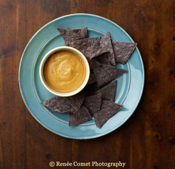 White Bean Cashew Queso from The Great Vegan Bean Book, photo ©Renée Comet Photography