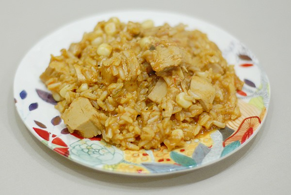 Quick and Easy Vegan Arroz con Pollo Made with Beyond Meat