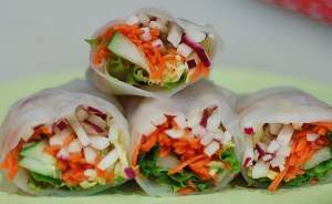 Summer Rolls and Giveaway Winners