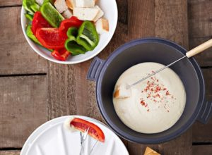 Almond And Great Northern Bean Fondue from Vegan Slow Cooking for Two or Just You
