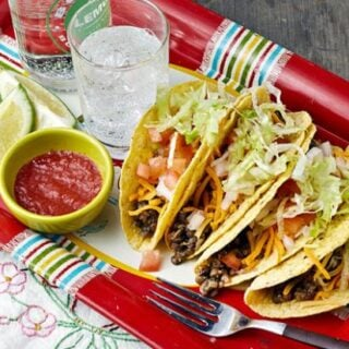 Slow Cooker Lentil-Quinoa Taco Filling from Vegan Slow Cooking for Two