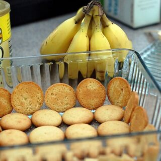 Vegan Banana Pudding with Homemade Vanilla Pudding