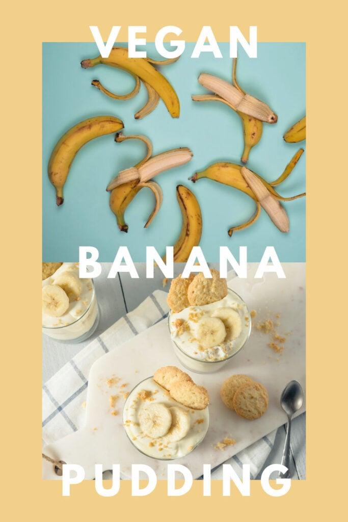 Vegan Banana Pudding with Homemade Vanilla Pudding Recipe