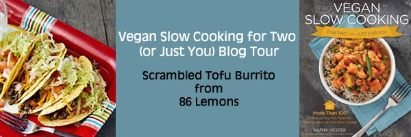 Vegan Slow Cooking for Two or Just You Blog Tour