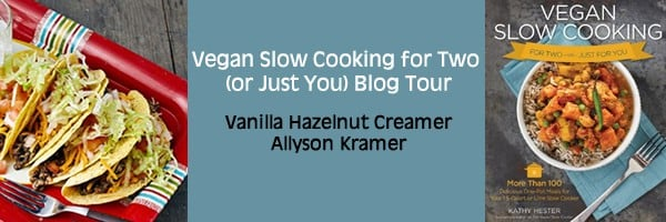 Vanilla Hazelnut Creamer from Vegan Slow Cooking for Two or Just You