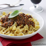 Lentil Quinoa Bolognese Sauce from The Great Vegan Bean Book