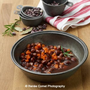 Vegan Slow Cooker Mother Stallard Beans with a Stove-Top Variation