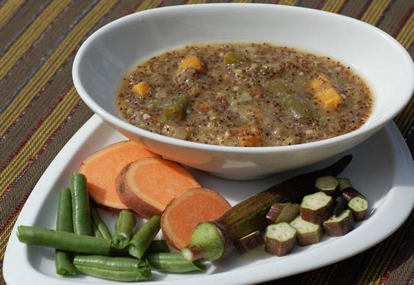 Roland Foods Week - Kañiwa Veggie Stew