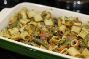 Kale Rosemary Pistachio Oil Vegan Pesto Pasta Recipe