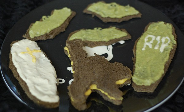 Trio of Vegan Halloween Spreads from HealthySlowCooking.com