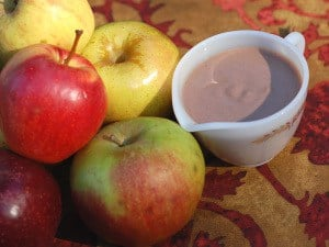Easy Slow Cooker Date-Sweetened Apple Spice Creamer