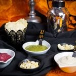 Trio of Vegan Halloween Spooky Spreads