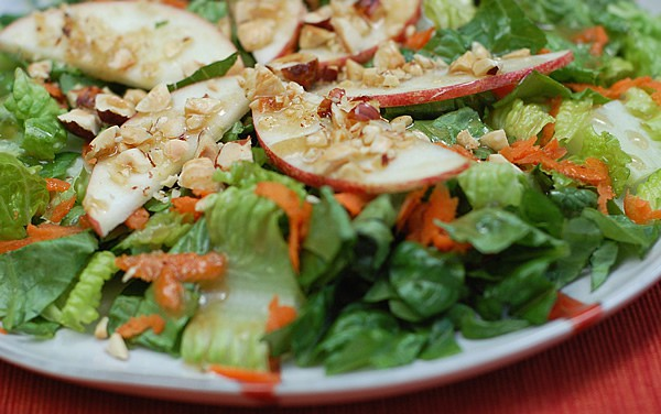 Autumn Salad with Hazelnut Balsamic Dressing and Another Roland Foods Giveaway