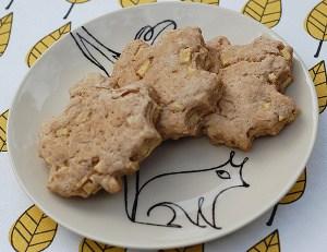 Autumn Cinnamon Apple Biscuits