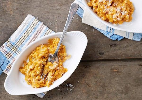 Slow Cooker Butternut Squash Macaroni