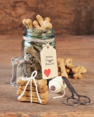 made Holiday Gift: Minty Doggie Biscuits