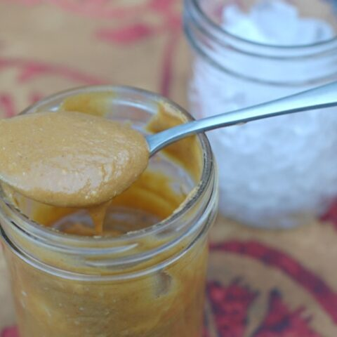 Vegan Slow Cooker Pumpkin Coconut Caramel Sauce