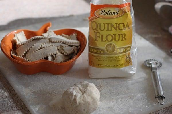 Quinoa-Flax Noodles