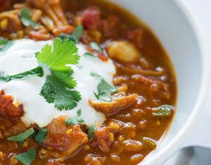 Joni Newman's Indian Spiced Chili