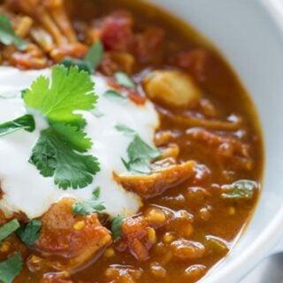 Joni Newman's Indian-Spiced Chili