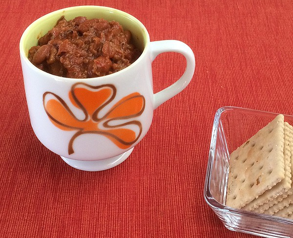 Slow Cooker Beyond Meat Chili
