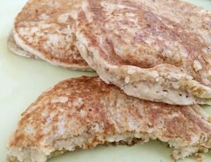 Irish Cream Oat Pancakes