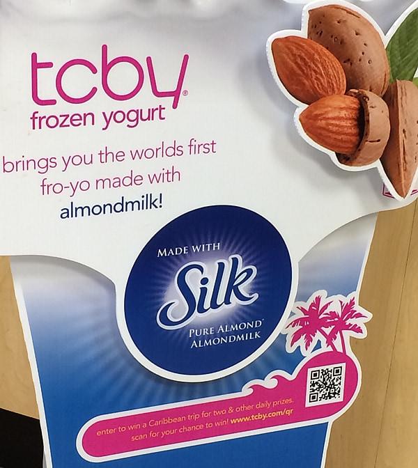 Vegan Almond Milk Fro-yo is at TCBY!