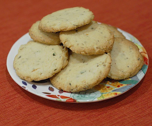 Lavender Mint Shortbread