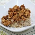 Vegan Gluten-free Apple Caramel Quinoa-Noodle Kugel