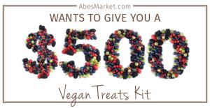 Abe's Market Vegan Sweepstakes