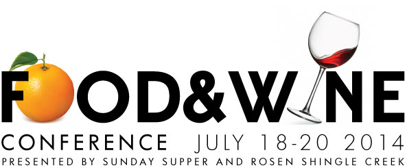 Join Me at the 2014 Food and Wine Conference