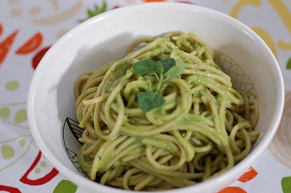 Easy Avocado Lemon Basil Pesto