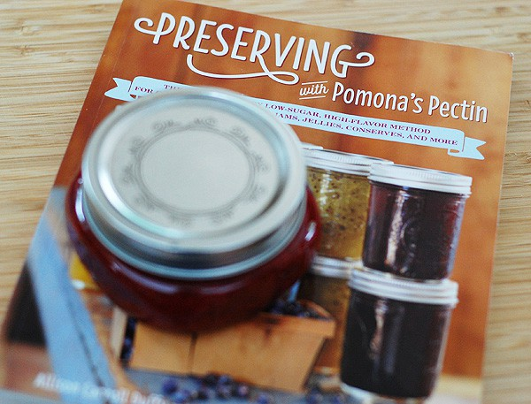 Pomona's Pectin Book Review and Strawberry-Vanilla Preserves